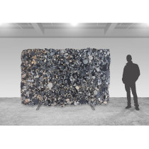 Black Mosaik Gold - gebürstet