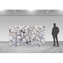 Crystal Agate - poliert