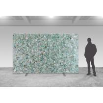Emerald Fluorite Precioustone - poliert